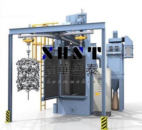 Q378 hook type shot blasting machine