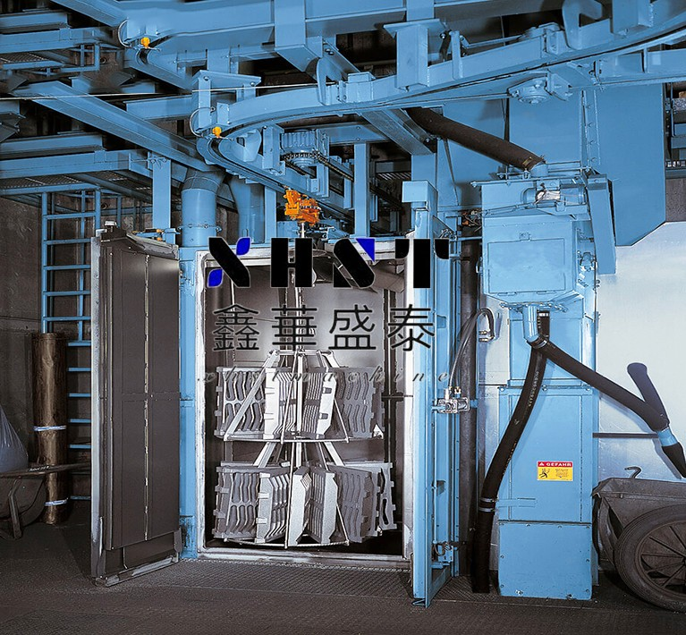Q3720 hook type shot blasting machine