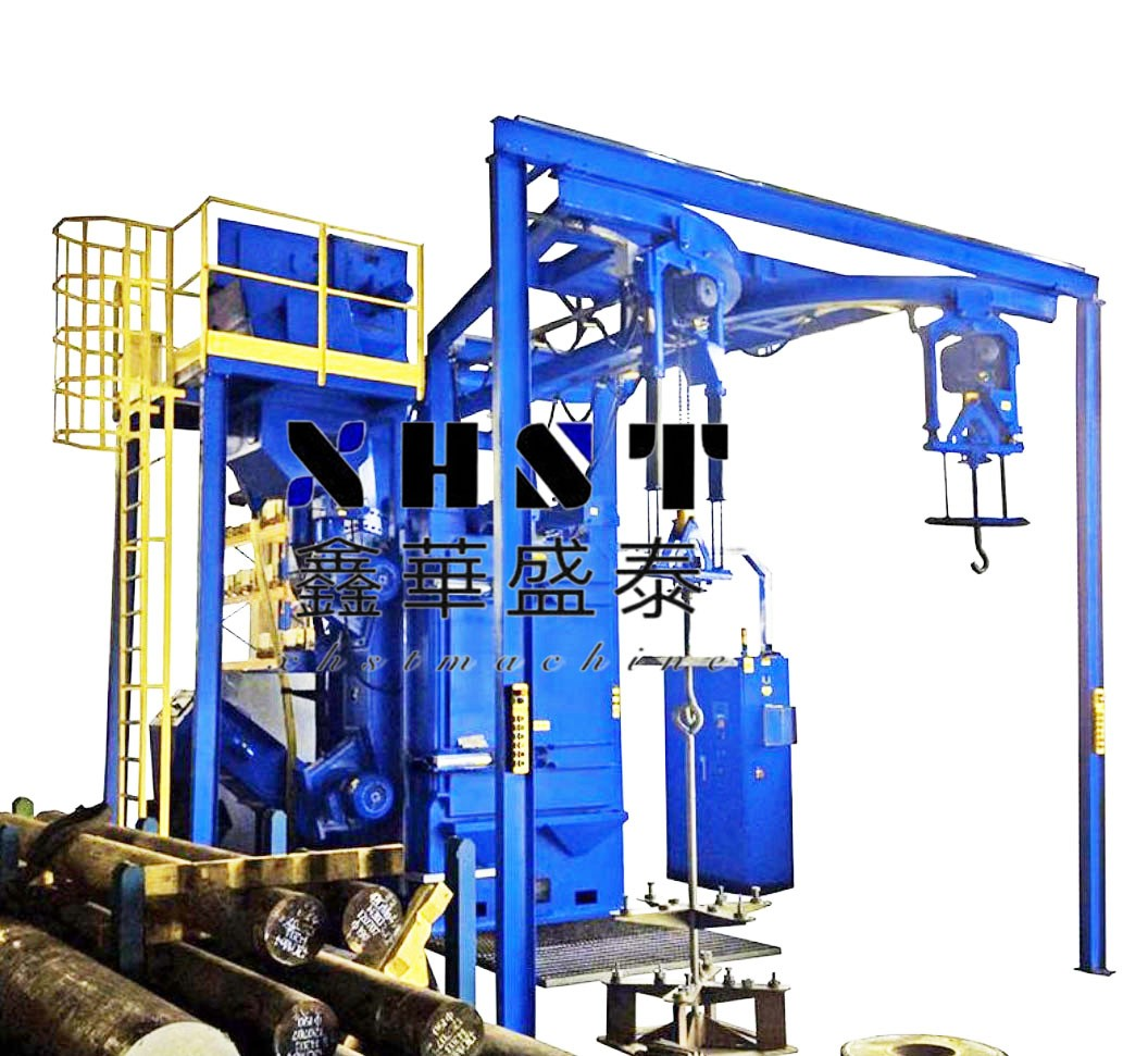 Q3710 hook type shot blasting machine